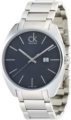 Calvin Klein Men's K2F21161 Exchange Analog Display Swiss Quartz Silver Watch