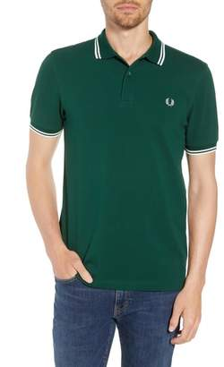 Fred Perry Extra Trim Fit Twin Tipped Pique Polo