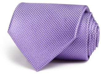 Bloomingdale's The Men's Store at Tonal Micro Pattern Wide Tie - 100% Exclusive
