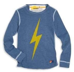 Aviator Nation Toddler's, Little Boy's& Boy's Thunder Bolt Tee