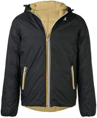 K-Way reversible down jacket