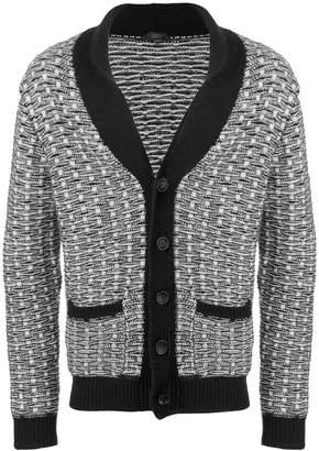 Zanone patterned cardigan