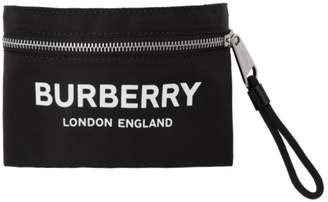 Burberry Black Nylon Arm Bag