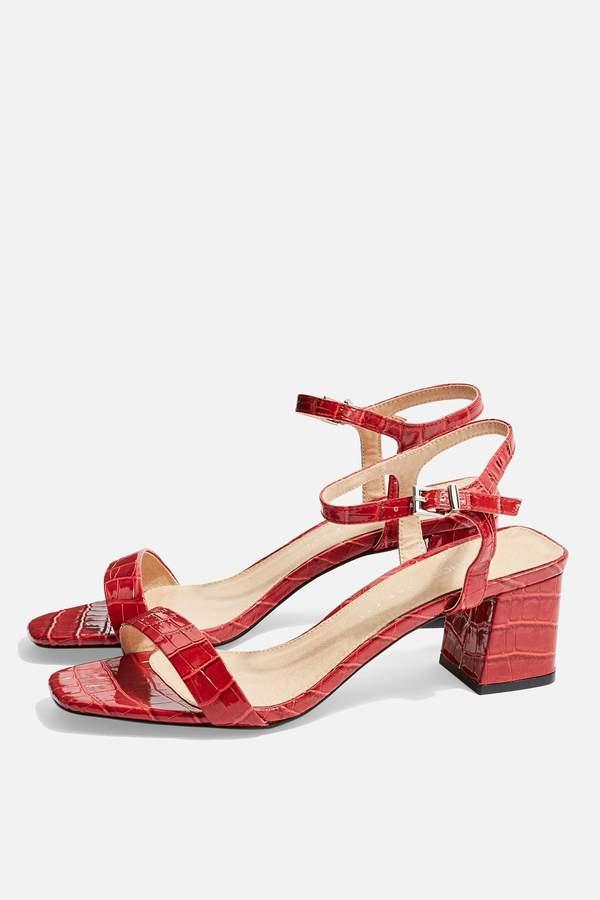 Topshop WIDE FIT Dallas Sandals