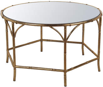 Privilege Gold Leaf Metal Coffee Table