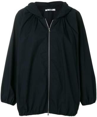 Barena hooded oversized jacket