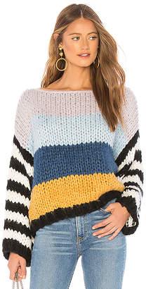 Blank NYC BLANKNYC Chunky Stripe Sweater