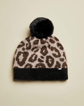 Ted Baker HYNIE Faux fur pom exotic hat