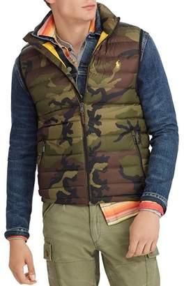 Polo Ralph Lauren Camouflage-Print Packable Down Vest