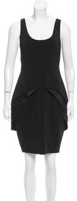 Brian Reyes Peplum Sheath Dress