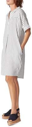 Whistles Sabrina Striped Dress