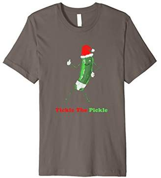 Pickle Tickle Novelty Christmas T-Shirt