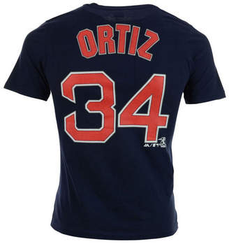 Majestic David Ortiz Boston Red Sox Official Player T-Shirt, Infant Boys (12-24 months)