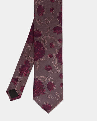 Ted Baker DAFFY Floral jacquard silk tie