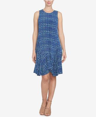 CeCe Handkerchief-Hem Shift Dress $119 thestylecure.com