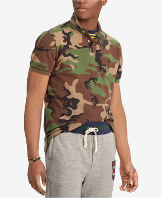 Polo Ralph Lauren Men's Classic Fit Camouflage Cotton Polo
