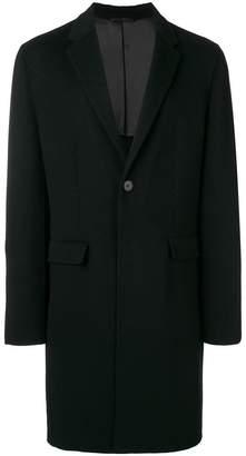 Joseph boxy single-breasted coat