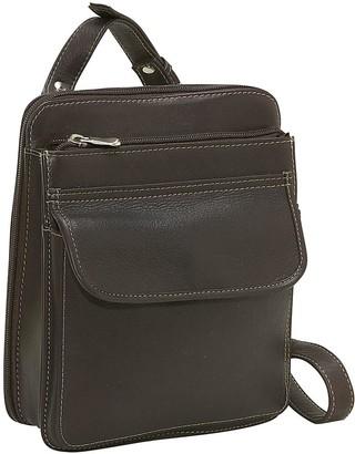 Le Donne Leather Structured Organizer ShoulderBag