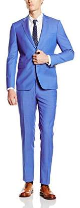 Esprit Men's 046EO2M003-Side Openingn Suit,(Manufacturer Size: 56)