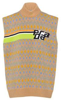 Prada Shetland Wool Vest