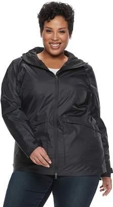 Columbia Plus Size Arcadia Omni-Tech Hooded Jacket