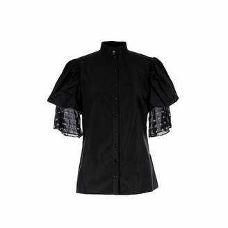 Adelina RUSU - Black Egyptian Cotton Shirt