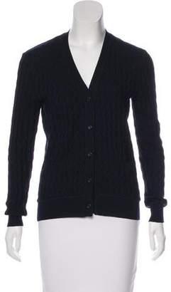 Miu Miu Wool Knit Cardigan