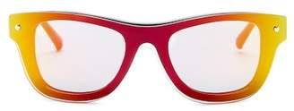 3.1 Phillip Lim 49mm Mirrored Sunglasses