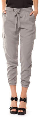 Dex Pull-On Cropped Pants