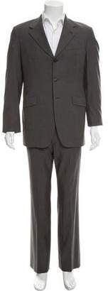 Prada Wool Three-Button Suit