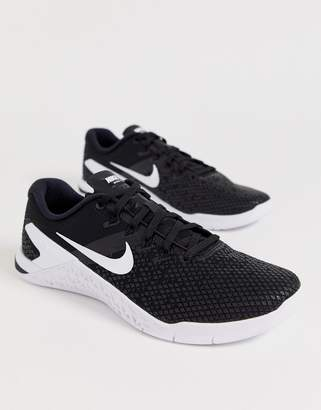 Nike Training metcon 4 sneakers in black