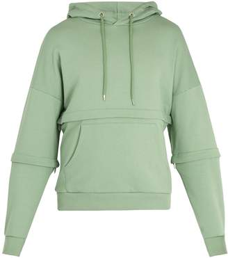 Cottweiler Off Grid cotton-jersey hooded sweatshirt