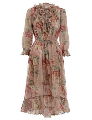 Zimmermann Corsair Ruffle Dress