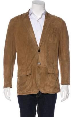 Brunello Cucinelli Leather Sport Coat