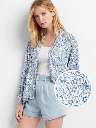 Drapey print kimono $59.95 thestylecure.com