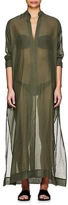 Su Women's Gandu Cotton-Silk Voile Caftan