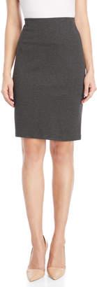 Premise Solid Slim Pencil Skirt