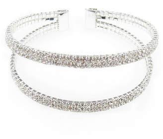 clear VIESTE ROSA Vieste Rosa Womens Cuff Bracelet Brass