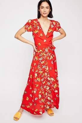 Gorgeous Jess Wrap Maxi Dress