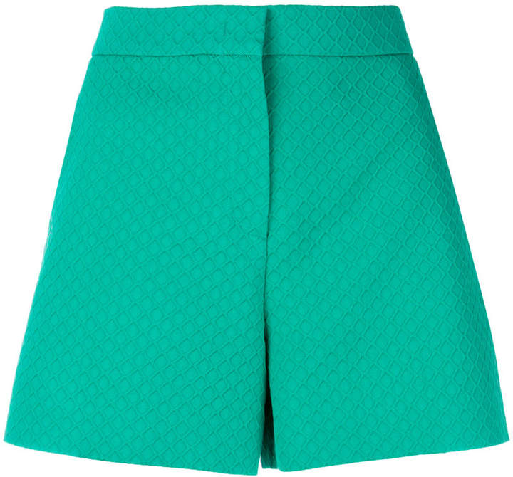 tailored high-waisted shorts