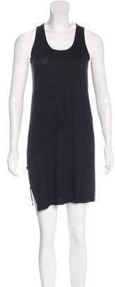 Tess Giberson Rib Knit Paneled Dress