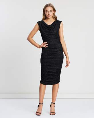 00b9d8206e3f0 Dorothy Perkins Sleeveless Side Ruch Cowl Body-Con Dress