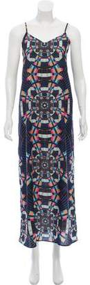 Mara Hoffman Abstract Midi Dress