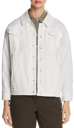 Kenneth Cole Oversized Denim Jacket