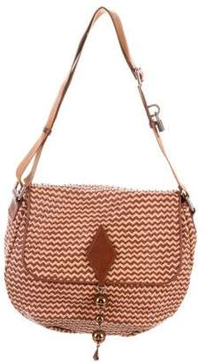 Marc Jacobs Woven Leather Crossbody Bag