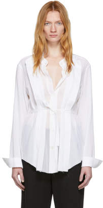 Ann Demeulemeester White Alexis Shirt