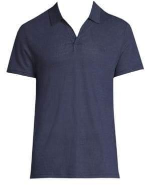 Vilebrequin Short-Sleeve Linen Jersey Polo