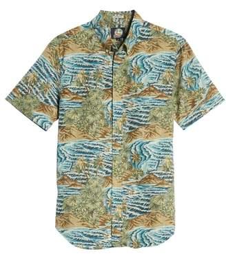 Reyn Spooner Sumatra Slide Tailored Regular Fit Sport Shirt