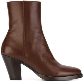 A.F.Vandevorst chunky heel ankle boots