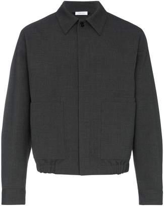 Jil Sander wool-blend shirt jacket